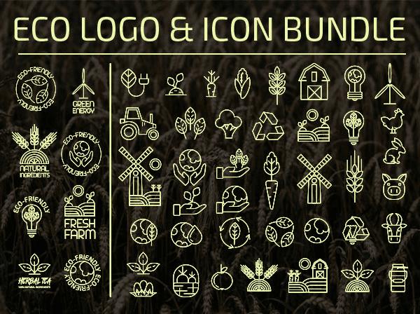 Eco Logo Design & Icon