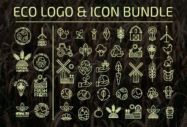 Eco Logo Design & Icon