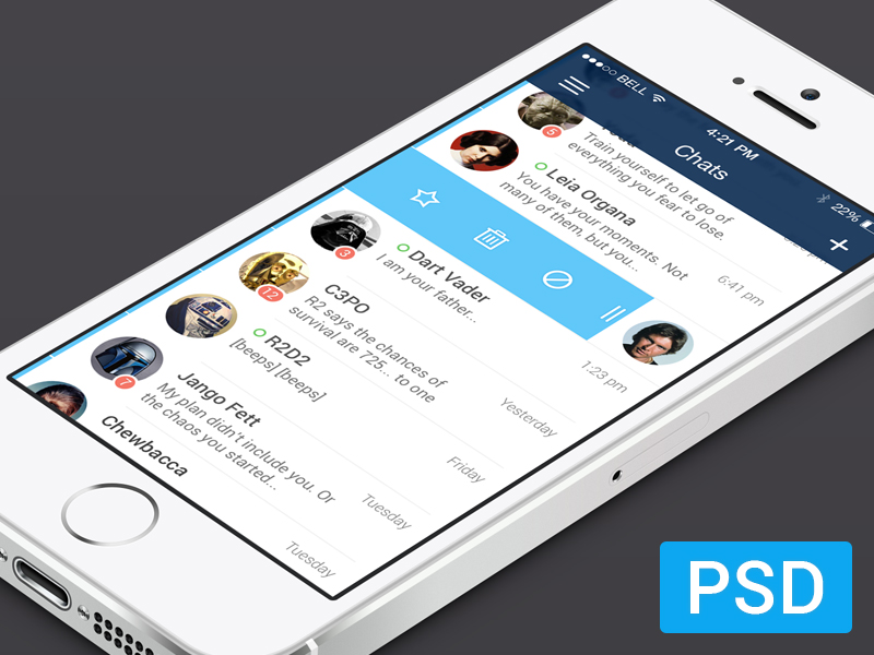 Free Messenger App For iOS7