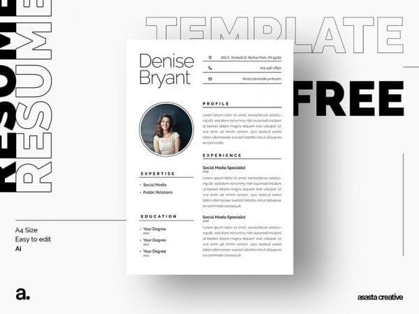 Resume Mockup Archives