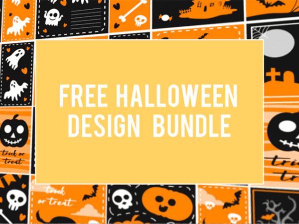 Halloween Vector Free Design Bundle
