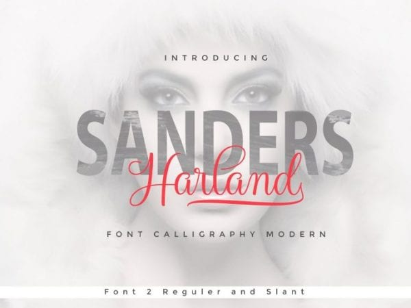 Harland Modern Calligraphy Script Font