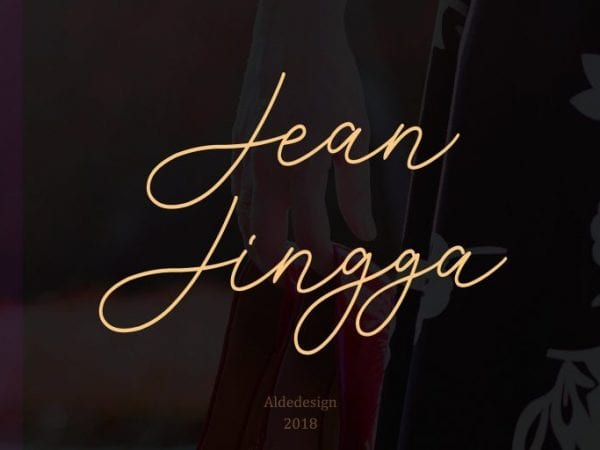 Jean Jingga Handwritten Script Free Font