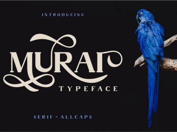 Murai Serif Display Fonts