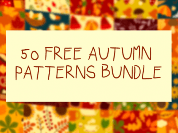 Pack Of 50 Free Autumn Patterns