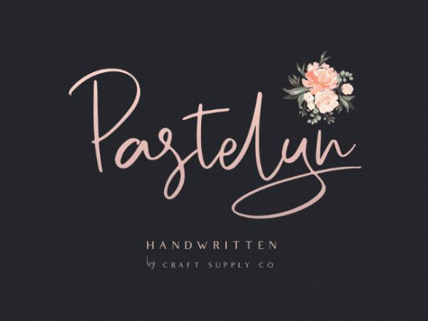 Pastelyn Unique Handwritten Script Font