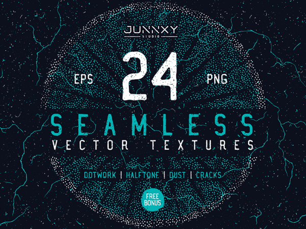 Set Of Dusty Seamless Patterns