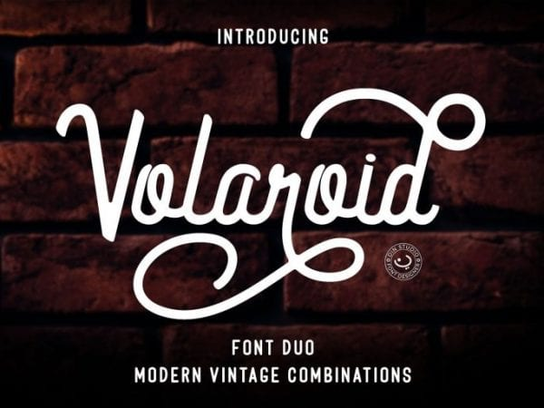 Volaroid Vintage Modern Font