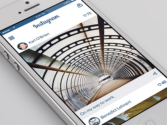instagram-app-ui-psd