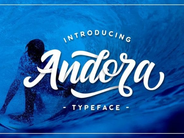 Andora Sweet Calligraphy Script Font