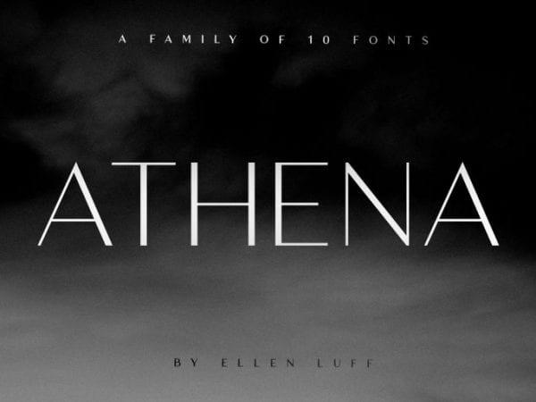 Athena Free Sans Serif Fonts