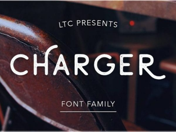 Charger Free Sans Serif Typeface