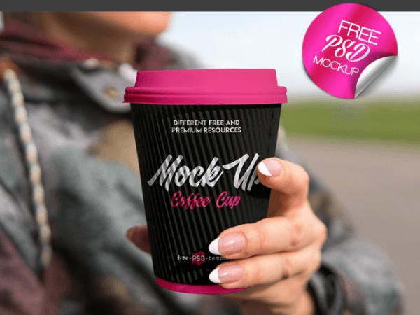 Coffee Cup PSD MockUp Template
