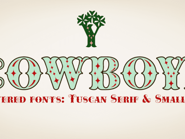 Cowboya Free Retro Typeface