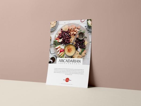 Free Brand Flyer PSD MockUp Template