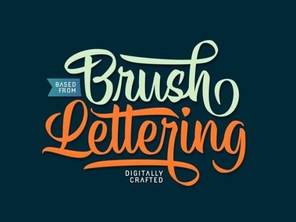 Hisyam Brush Calligraphy Font