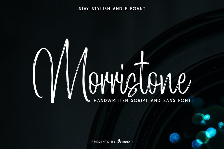 Morristone Handwritten Script Font