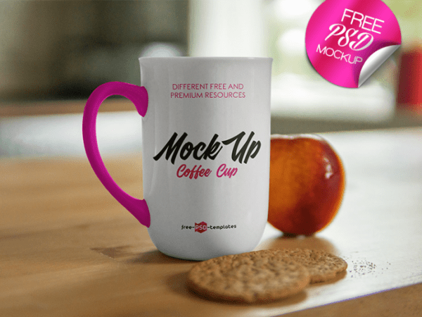 Mug MockUp PSD Free Template