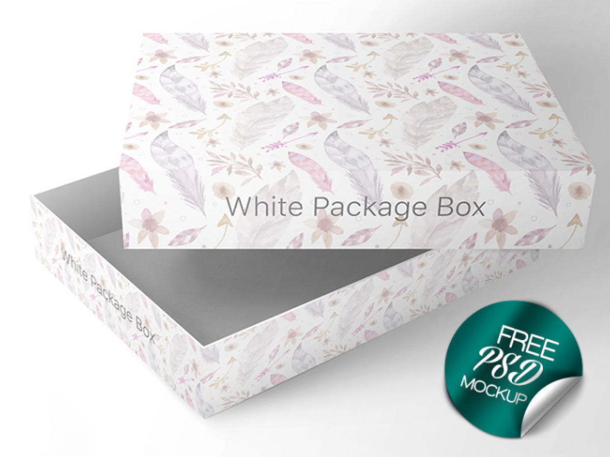 Packaging Box Psd Mockup Template Mockup Free Downloads