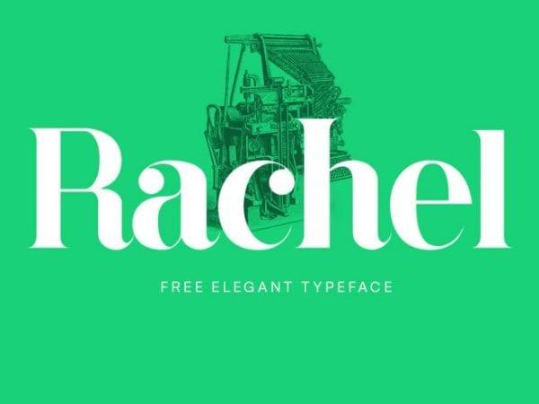 Rachel Serif Display Fonts