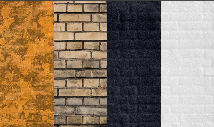 Set Of 4 Brick HQ Textures And Backgrounds