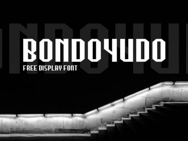 Bondoyudo Sans Serif Typeface