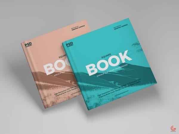 Brand Book MockUp PSD Template