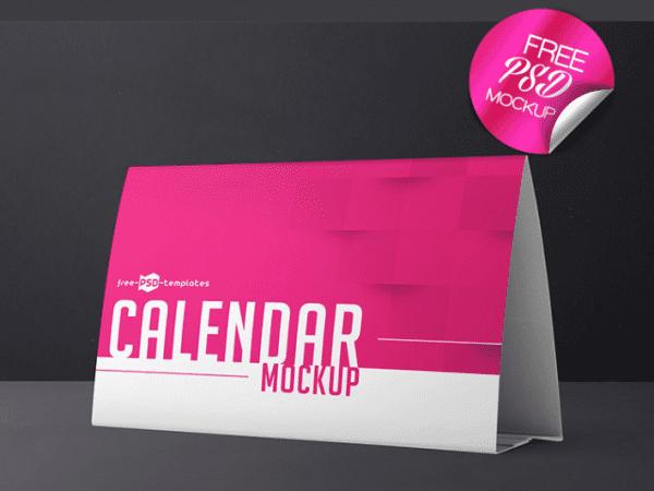 Calendar Mockup PSD Template