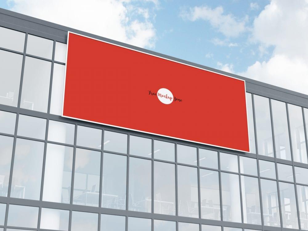 facade billboard mockup psd free template mockup free downloads