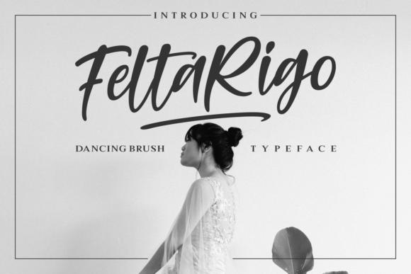 Feltarigo Handmade Brush Font