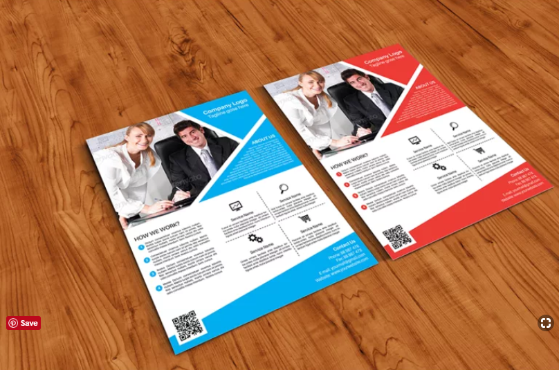 Free Poster Flyer Mockup Template