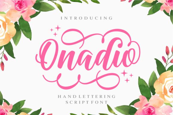 Onadio Calligraphy Script Font