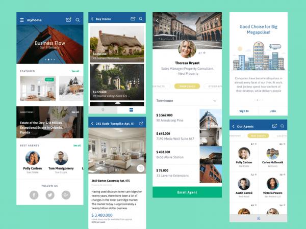 Real Estate Design Sketch App