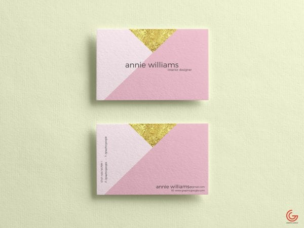 Textured Business Cards Free PSD MockUp