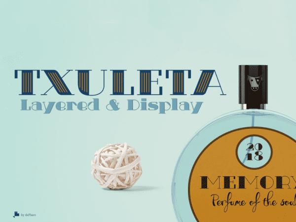 Txuleta Free Retro Serif Fonts