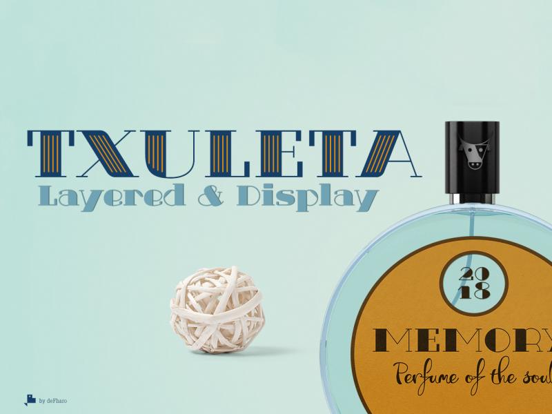 Txuleta Free Retro Serif Fonts - Mockup Free Downloads