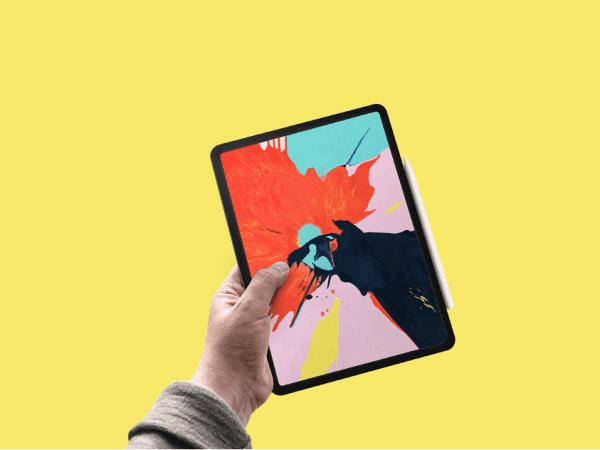 Free iPad Pro Mockup PSD Template