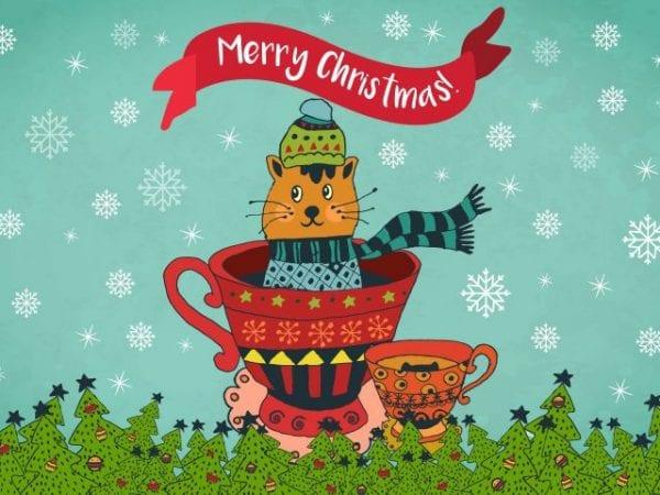 Amazing Merry Christmas Illustration