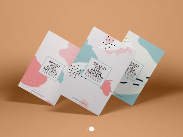 Brand Paper MockUp PSD Template