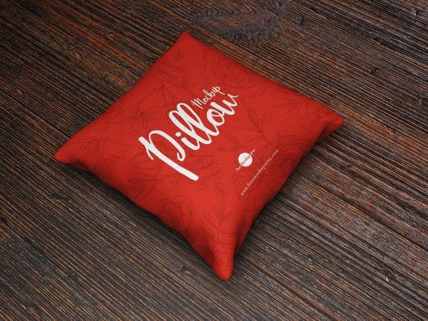 Brand Pillow MockUp PSD Free Template 1