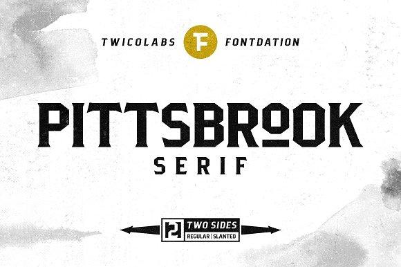 Pittsbrook Classic Serif Typefaces