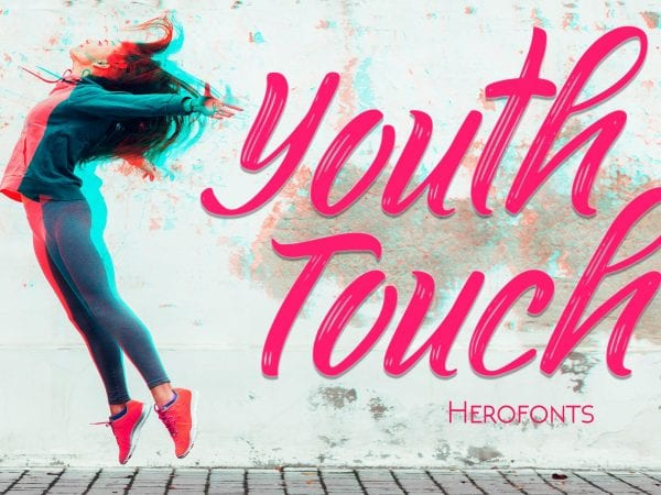 Youth Touch Hand drawn Script Fonts