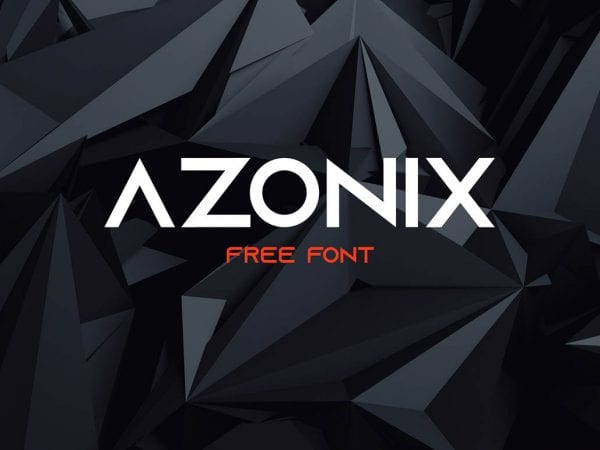 Azonix Modern Sans Serif Typefaces