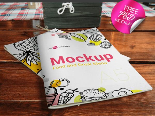 30 Best Free Menu Mockups And Vectors Mockup Free Downloads