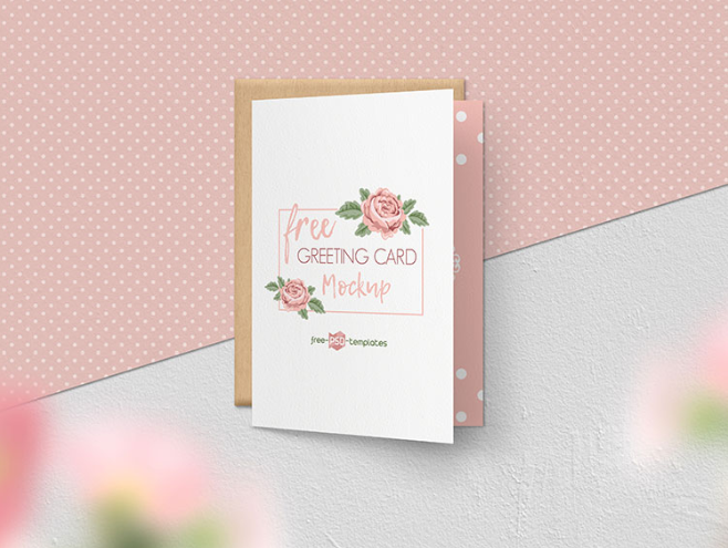 Gorgeous Greeting Card Mockup PSD Template