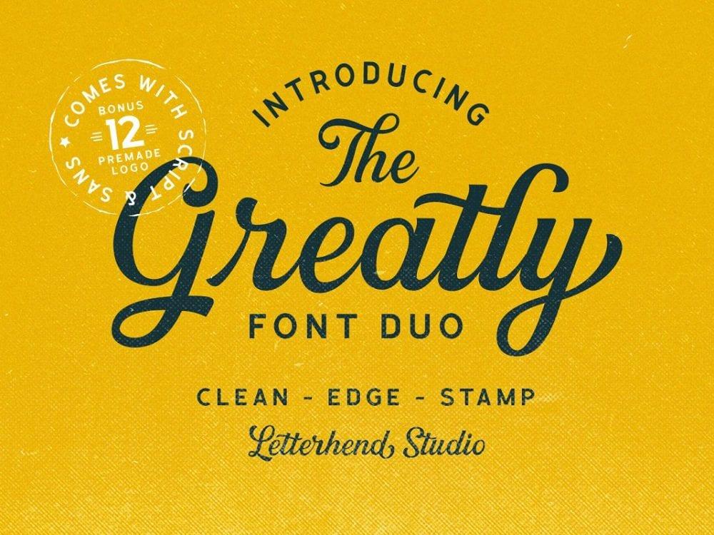 Greatly Fresh Script Font