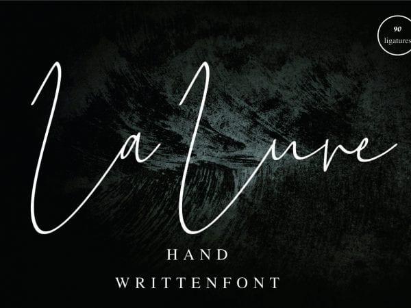 La Lune Handwritten Script Font