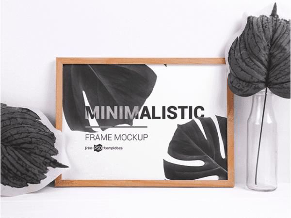 Minimalistic Frame Mockup PSD Template