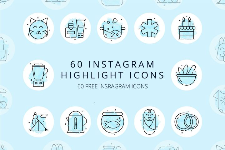 Instagram Highlight Icons Marble Beauty