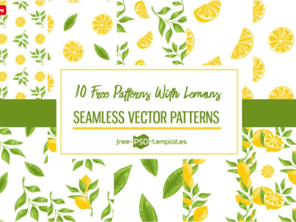 Pack Of Free Seamless Patterns